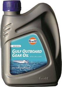 Bildel: Transmissionsolja Gulf Outboard Gear Oil 80W-90, Universal