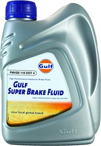 Gulf Brakefluid Super DOT 4, Universal
