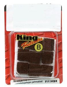 Möbeltass fyrkant brun, 15x15, Universal