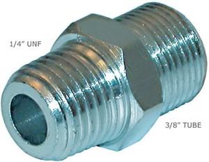 NIPPEL 1/4' NTP - 3/8 TUBE