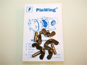 PIN WING M5XM5 4ST F