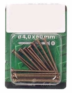 Standardskruv, guls.4x60 1st, Universal