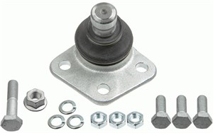 Reservdel:Volkswagen Caddy Kulled / Spindelled, Framaxel, Höger eller vänster, Nedre