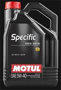 Motul SPECIFIC 505 01 502 00 5W-40, Universal