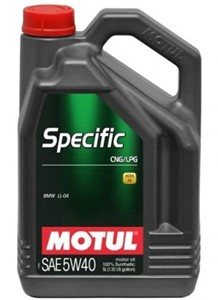 Motul SPECIFIC CNG/LPG 5W-40, Universal