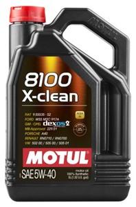 Motul 8100 X-CLEAN 5W-40, Universal