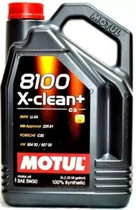 Motul 8100 X-CLEAN+ 5W-30, Universal