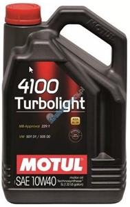 Motul 4100 TURBOLIGHT 10W-40, Universal