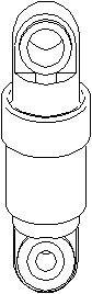 Svingningsdemper, kilerem med ribber