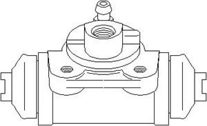 Hjulbremsecylinder, Bagaksel, højre eller venstre