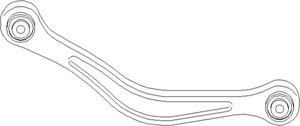 Länkarm, Fram, Bak, höger eller vänster, Upptill