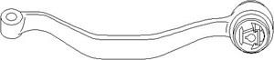varaosat:Bmw X3 Tukivarsi, pyöräntuenta, Edessä, Ulompi, Eteen, vasen, Etuakseli, ala, Etuakseli, vasen, Alla, Vasen