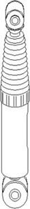 Reservdel:Citroen Zx Stötdämpare, Bak, höger, Bak, vänster