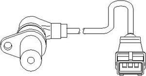 Reservdel:Citroen Zx Varvtalssensor, motorhantering
