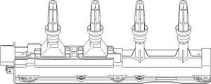 Reservdel:Citroen Xm Tändspole