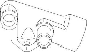 Rördel, motorkylning, Cylindrisk skalle