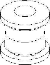 Lagring, styrestang, Foran, Foran, høyre eller venstre