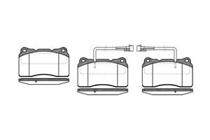 varaosat:Alfa Romeo Alfa Romeo 156 Jarrupalasarja, levyjarru, Edessä