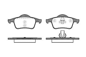 varaosat:Volvo S70 Jarrupalasarja, levyjarru, Takana