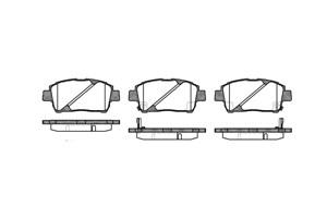 varaosat:Toyota Prius Jarrupalasarja, levyjarru, Edessä