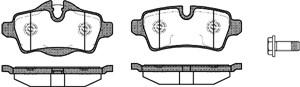 varaosat:Mini Mini Cooper Jarrupalasarja, levyjarru, Takana