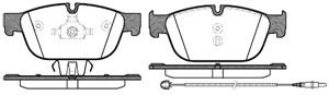 varaosat:Citroen C5 Jarrupalasarja, levyjarru, Edessä