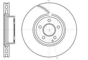 varaosat:Mercedes Slk 200 Jarrulevy, Edessä