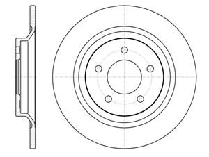 varaosat:Mazda Mx-5 Jarrulevy, Takana