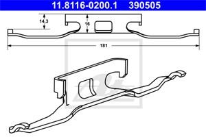 Reservdel:Mercedes Sprinter Fjäder, bromsadel, Fram, Framaxel