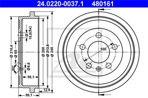 Reservdel:Audi A2 Bromstrumma, Bakaxel