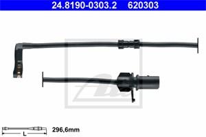 Reservdel:Audi A8 Varningssensor, bromsbeläggslitage, Fram