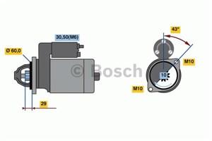 Reservdel:Mercedes C 300 Startmotor