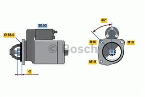 Reservdel:Citroen Bx Startmotor