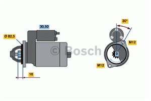 Reservdel:Volkswagen Passat Startmotor