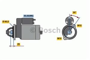 Reservdel:Mercedes Vito Startmotor