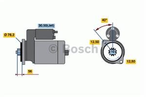 Reservdel:Volkswagen Beetle Startmotor