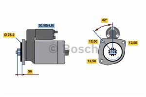 Reservdel:Volkswagen Golf Startmotor