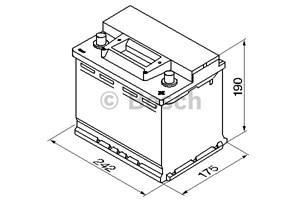 Reservdel:Saab 9000 Startbatteri