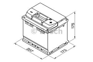 Reservdel:Bmw 316 Startbatteri