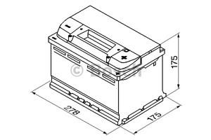 Bildel: Startbatteri