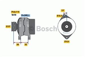 Reservdel:Volvo 850 Generator