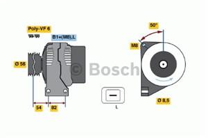 Reservdel:Volvo Xc70 Generator