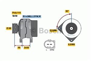 Reservdel:Volkswagen Golf Generator