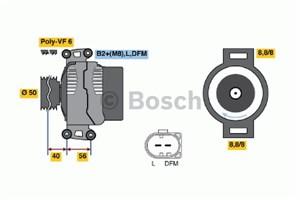 Reservdel:Mercedes E 270 Generator
