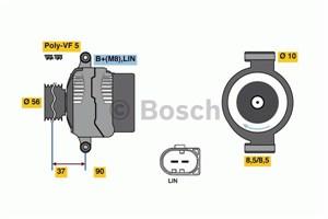 Reservdel:Volvo V40 Generator
