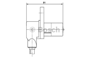 ABS Sensor, Foran, Venstre