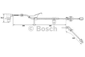 ABS Sensor, Foraksel, Foran, Højre