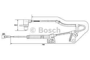 ABS Sensor, Foraksel, Højre