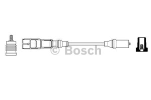 Reservdel:Audi 80 Tändkabel, Cyl. 1, Cyl. 2, Cyl. 3, Cyl. 4