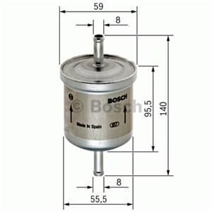Reservdel:Bmw 520 Bränslefilter